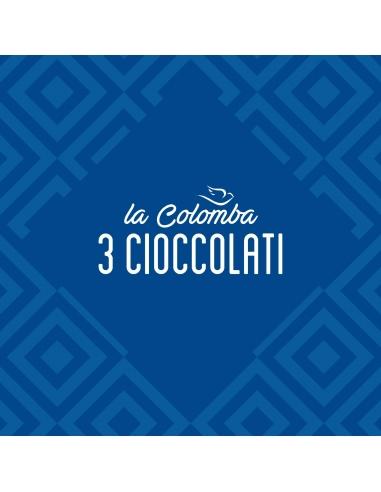 Colomba ai tre cioccolati